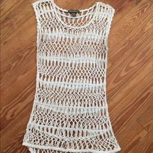 Tommy Bahama White Knitted Top